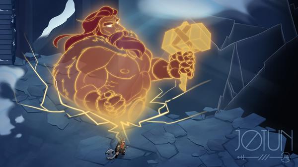 北欧神話ベースのアクションアドベンチャー『Jotun』がSteam、GOGで期間限定無料配布中