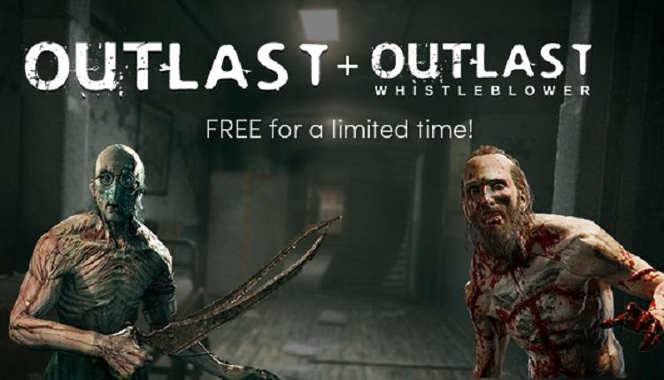 Humbleストアにて一人称サバイバルホラー『Outlast』が48時間限定の無料配布開始!