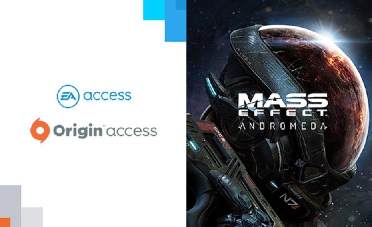 定額サービスOrigin/EA Accessに『マスエフェクト:アンドロメダ』追加を確認!無制限にプレイできるぞ