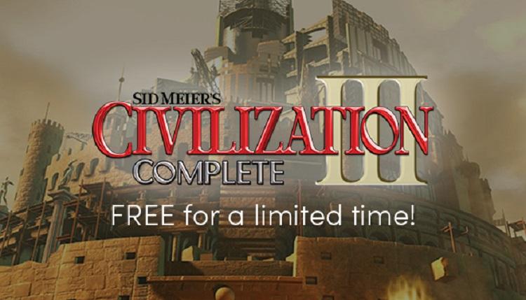 Humbleストアにて傑作ストラテジー『シヴィライゼーション3』期間限定で無料配布中!