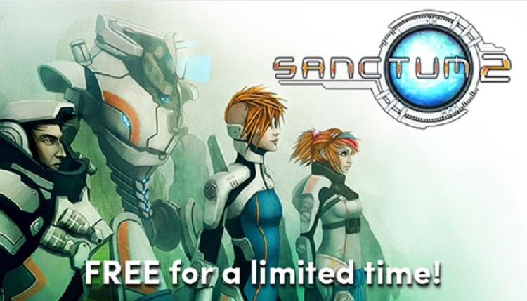 HumbleストアにてSFタワーディフェンスFPS『Sanctum2』(サンクタム2)期間限定で無料配布開始!
